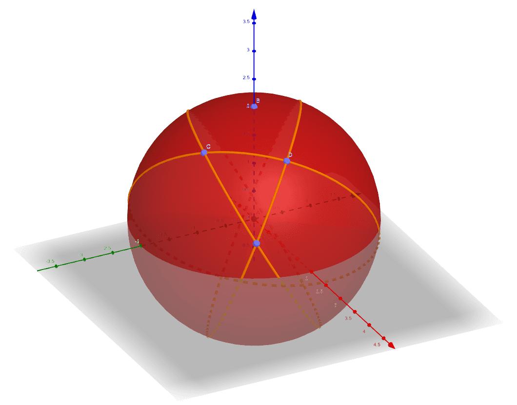 Triângulo esférico