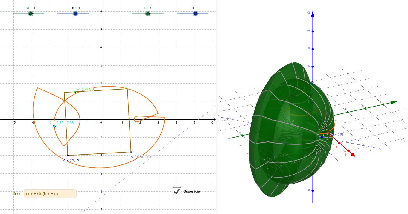 Feu servir millor la línia d'Entrada per introduir els valors i la posició dels punts. Premeu Enter per iniciar l'activitat