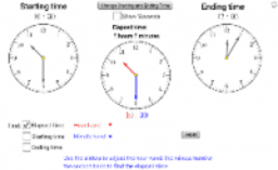 Find the Elapsed Time using 'Hours & Minutes'