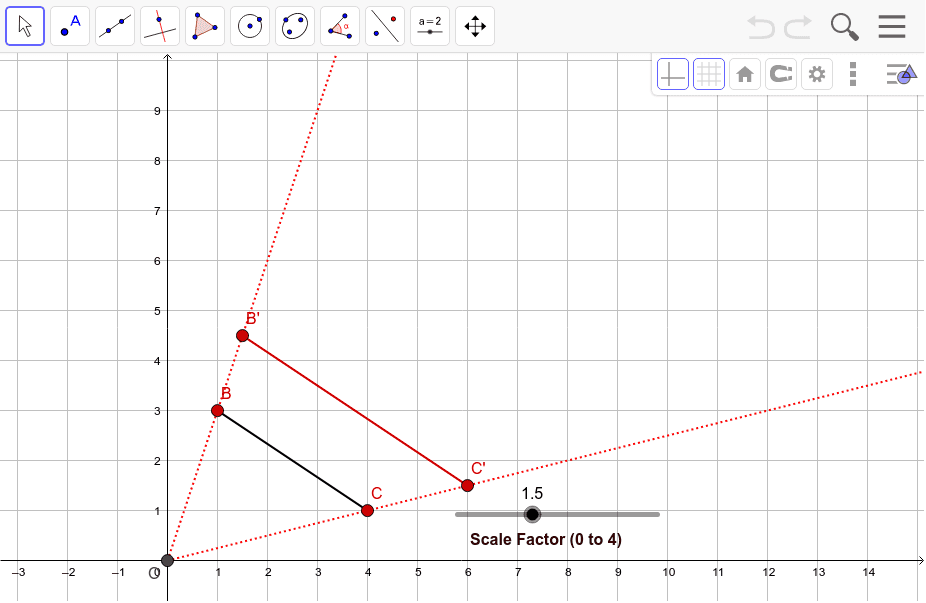 Part #3 - Investigating the Effect Dilation on Angles