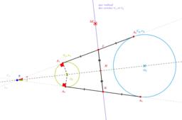 Exercice 24 (autour axe radical)