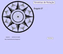 Simetrias de Rotação - 1