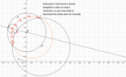 Tangent Circle in Circle sector