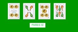 Sacando cartas de una baraja