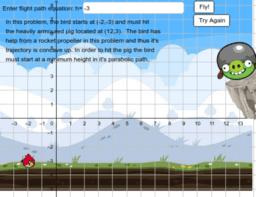Angry Birds 4: Modelling Quadratics