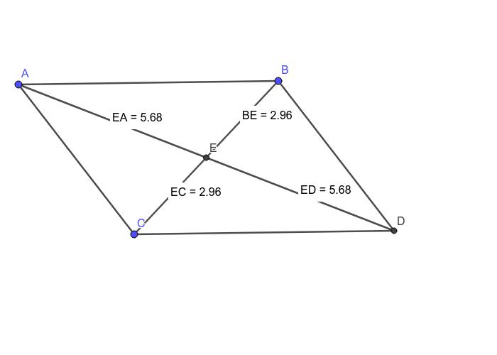 Parallelogram-Diagonals