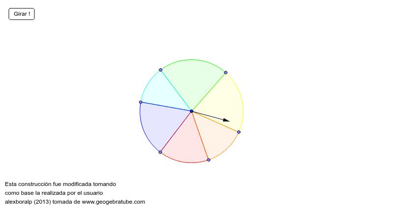 La probabilitat d'una ruleta Premeu Enter per iniciar l'activitat