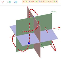 3D Lissajous-Kurven /3D Lissajous curves