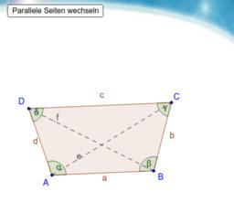 Allgemeine Trapeze (Drei-, Vierecke)