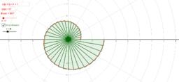 area in polar coordinates