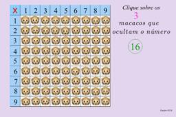 Tabuada de Pitágoras - Atividades