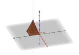 Правильная 4х угольная пирамида