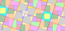Pythagorean Tessellation # 5 Tiling