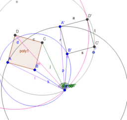 Rotating a Quadrilateral 60 degrees