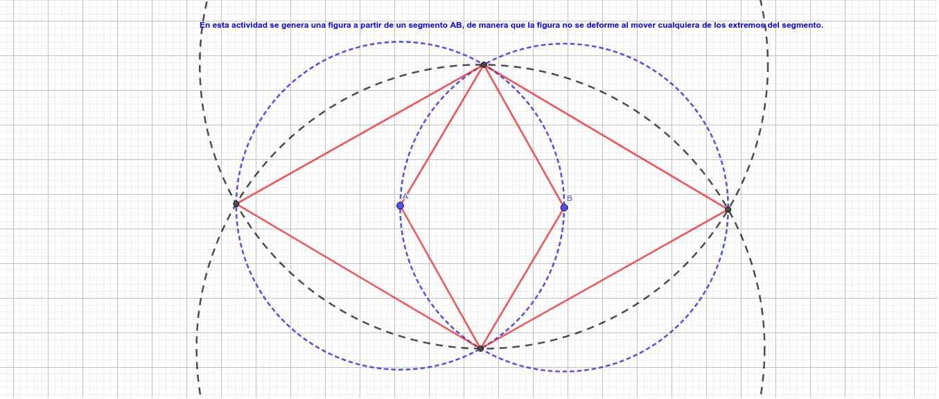 Figura Geométrica a partir de circunferencias  Presiona Intro para comenzar la actividad