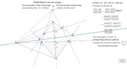 59. Desargues' Theorem (Homology)