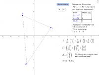 Zwaartepunt berekenen met vectoren