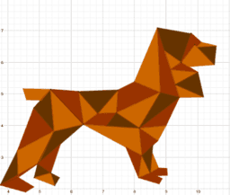 Cane geometrico