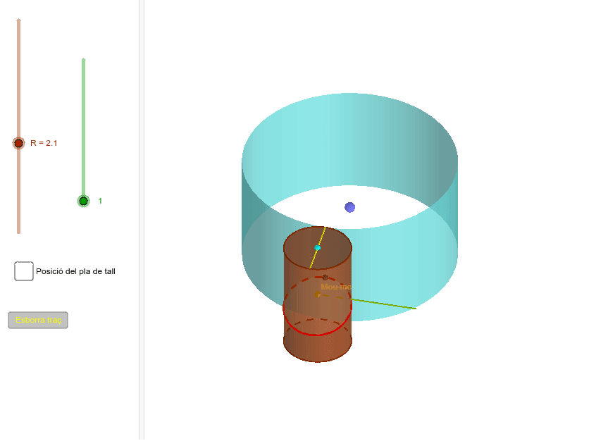 Una variant amb dos moviments: rectilini i circular