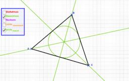Segments remarquables d'un triangle 2