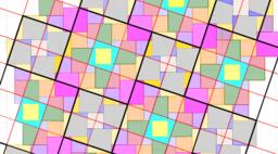 Pythagorean Tessellation # 26 Tiling