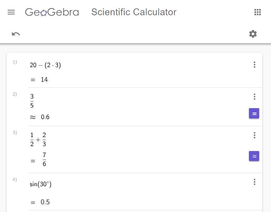 NEW! Scientific Calculator