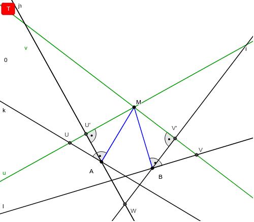 Megoldás geometriai inverzióval Press Enter to start activity
