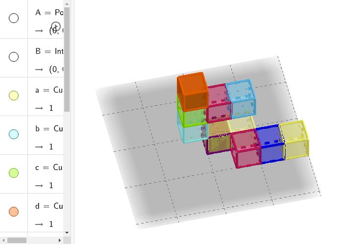 GeoGebra Applet Etkinliği başlatmak için Enter'a basın