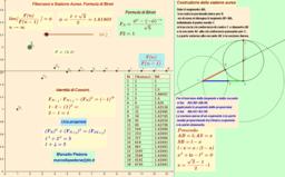 Fibonacci e Sezione Aurea. Formula di Binet.