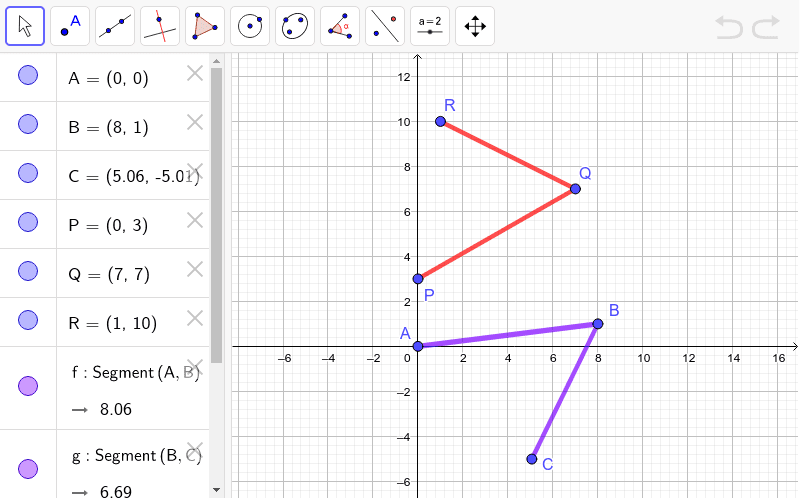 Prove that Angle ABC and PQR are congruent to each other - don't just measure them!