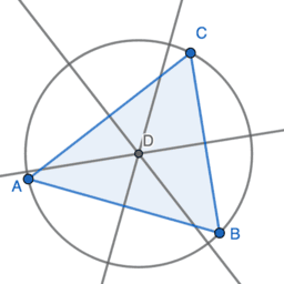 Using the PERPENDICULAR BISECTOR Tool: Exercise 9
