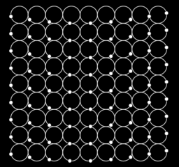 Waves with dots