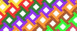 Pythagorean Theorem by Tessellation # 54 Tiling