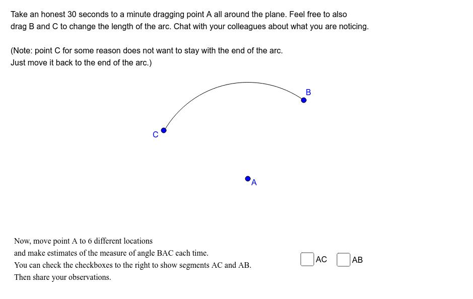 Arcs: Part 2 Press Enter to start activity