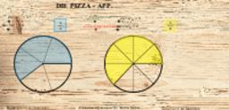 Die Pizza-App II (Größenvergleich von Brüchen)