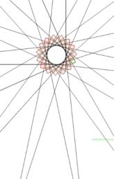 Spike Star Swirl Fractal - Phone-friendly slider