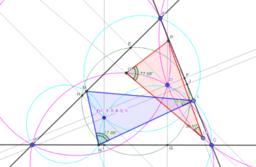 三円相似と等角共役点