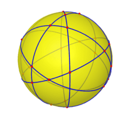Rotating Circles Intersection Points