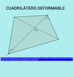 CUADRILÁTERO DEFORMABLE