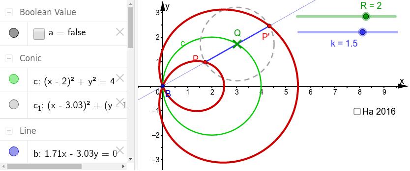 Pascal'sche Schnecken sind Kreis-Konckoiden