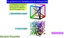 Τα χρώματα στο Geogebra και το σύστημα RGB