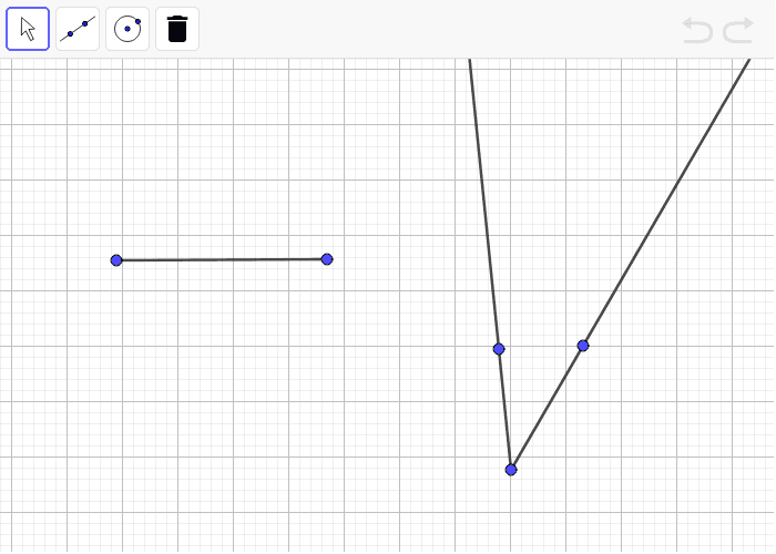 Perpendicularly Bisect this segment and copy the angle.