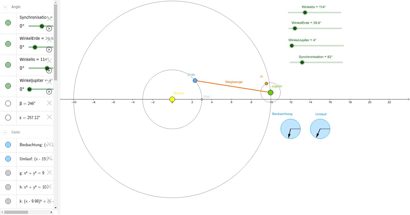 2-2-2 Lichtgeschwindigkeit