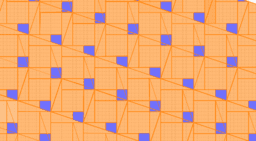Pythagorean Theorem by Tessellation # 46 Tiling