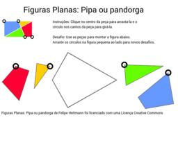 Figuras Planas: Pipa ou pandorga