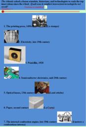Cronologia interattiva  delle scoperte ed invenzioni