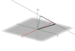 Parameterdarstellung Gerade im 3D-Raum