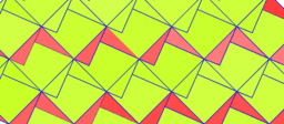 Pythagorean Theorem by Tessellation # 26 Tiling