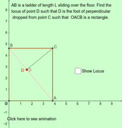 Locus Problem - Feet of Perpendicula
