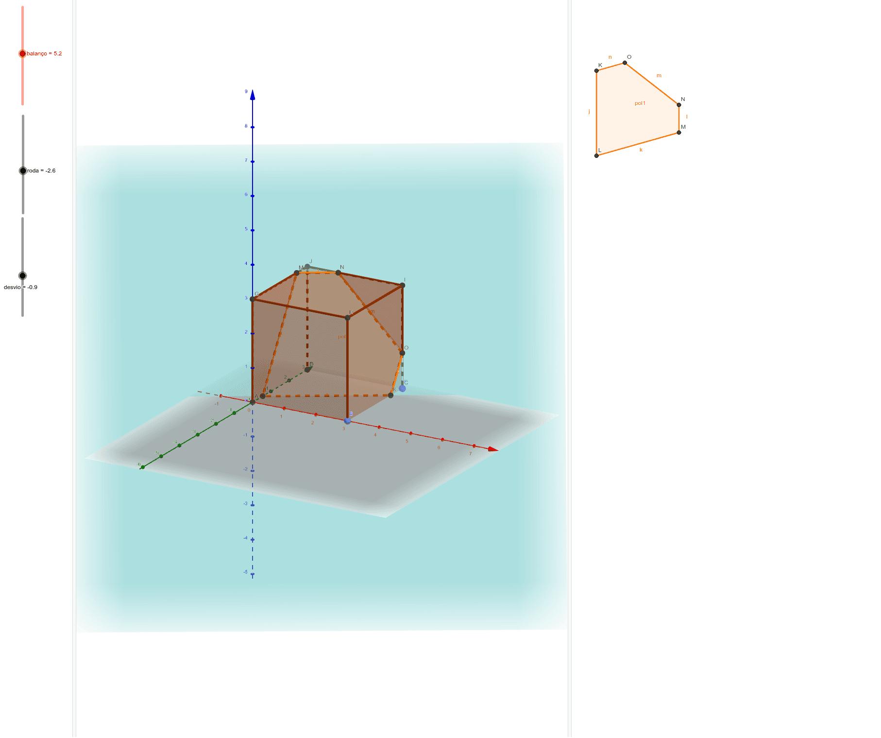 Interseção de um plano com um cubo Pressione Enter para iniciar a atividade